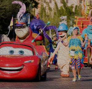 Disney's Pixar Play Parade